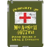 Property Of Mash 4077th iPad Case/Skin
