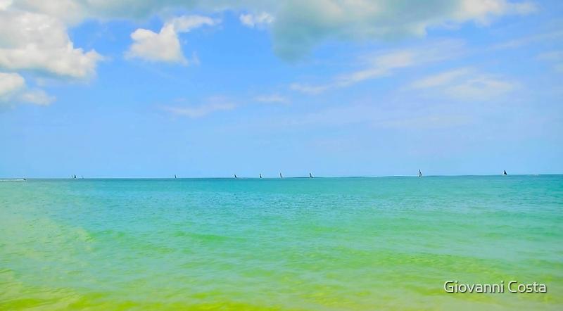 Lamai Beach - Koh Samui -Thailand by Giovanni Costa