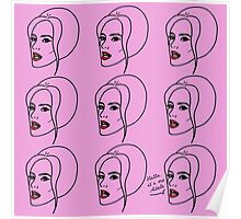 Adele (Hello it's me) Poster