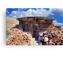 Ore Sample Storage Cabin Canvas Print