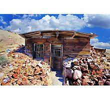 Ore Sample Storage Cabin Photographic Print