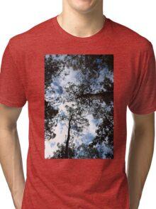 In clouds Tri-blend T-Shirt