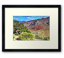 Nevada Colors Framed Print