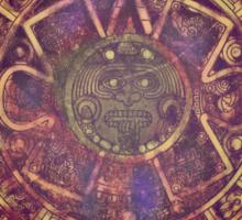 Aztec/Mayan Calendar Sticker