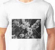 Cherry Blossom (BW) Unisex T-Shirt