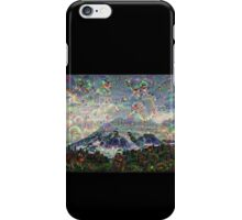 Mt. Rainier Machine Dreams #2 iPhone Case/Skin
