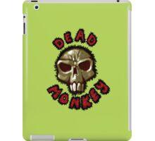 Dead monkey skull painting iPad Case/Skin