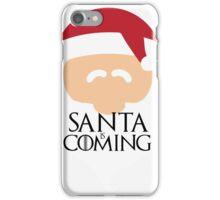 Santa is Coming 2 - Game of Thrones iPhone Case/Skin