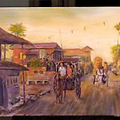 Philippines Street Scene by Patrick  McMullen
