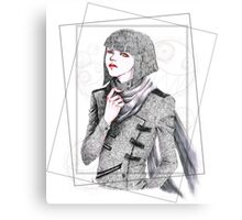 Androgynous Canvas Print
