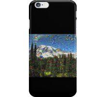 Mt. Rainier Machine Dreams #1 iPhone Case/Skin