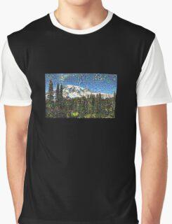 Mt. Rainier Machine Dreams #1 Graphic T-Shirt