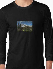Mt. Rainier Machine Dreams #1 Long Sleeve T-Shirt
