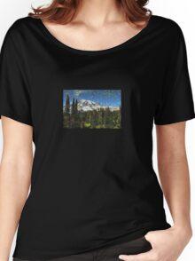 Mt. Rainier Machine Dreams #1 Women's Relaxed Fit T-Shirt