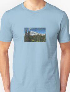 Mt. Rainier Machine Dreams #1 Unisex T-Shirt