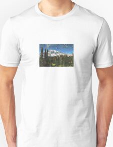 Mt. Rainier Machine Dreams #1 Unisex T-Shirt