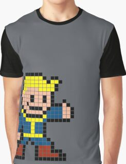 Vault Boy - 8bit Graphic T-Shirt