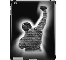 How Hard You Get Hit - Rocky Balboa iPad Case/Skin