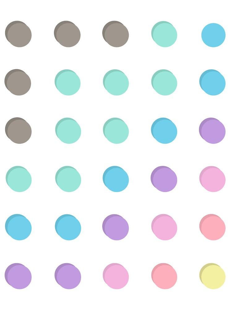 3D colorful bubble by suesla