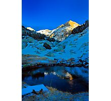 sunny peak Photographic Print