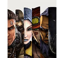 BOrderlands 2 Characters =2 Photographic Print