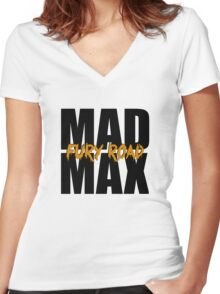 Mad Max: Fury Road Women's Fitted V-Neck T-Shirt
