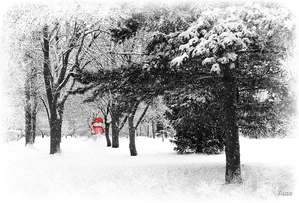 The Snowman by Aase