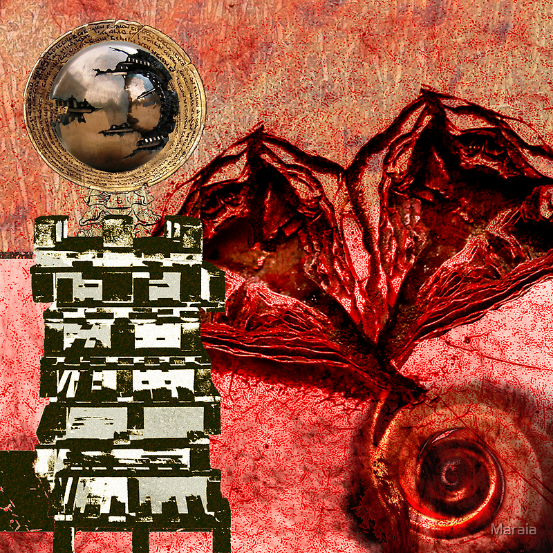 Transfusion Into a Wooden Heart by Maraia