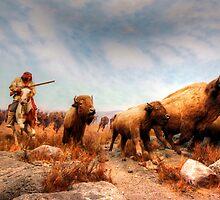 Buffalo Hunt by Larry Trupp