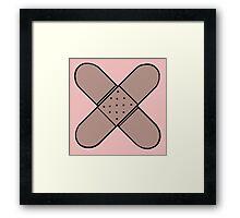 Band-Aid Framed Print