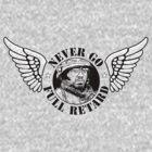 Never Go Full Retard (B&W version) by adamcampen