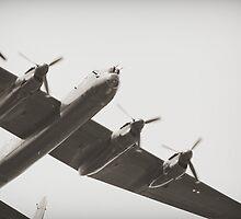 Lancaster Heavy Bomber by Steve Churchill