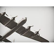 Lancaster Heavy Bomber Photographic Print