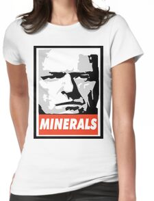 Minerals- Hank Obeys Womens Fitted T-Shirt