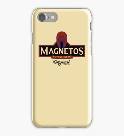 Magnetos Mutant Cider - Horizontal (iPhone Case) iPhone Case/Skin