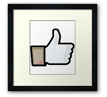 FACEBOOK X GHOSTBUSTERS (GB1) Framed Print