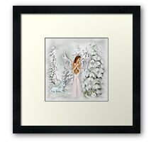 The Angel of Peace  Framed Print