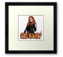 WWE Becky Lynch Release Framed Print
