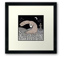 Celtic Hare Framed Print