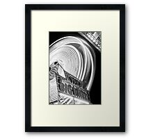 The Big Wheel Framed Print