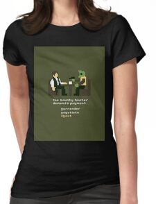 Star Wars Adventure Womens Fitted T-Shirt