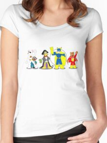 UK Toonz Women's Fitted Scoop T-Shirt