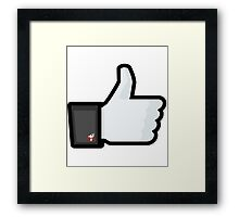 FACEBOOK X GHOSTBUSTERS (GB2) Framed Print