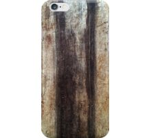 LoG oF WoOd iPhone Case/Skin