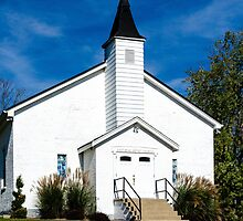 East Bend Baptist Church by Mary Carol Story