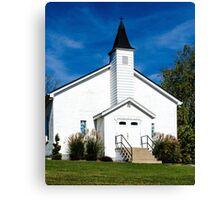 East Bend Baptist Church Canvas Print