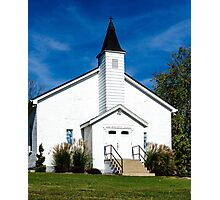 East Bend Baptist Church Photographic Print