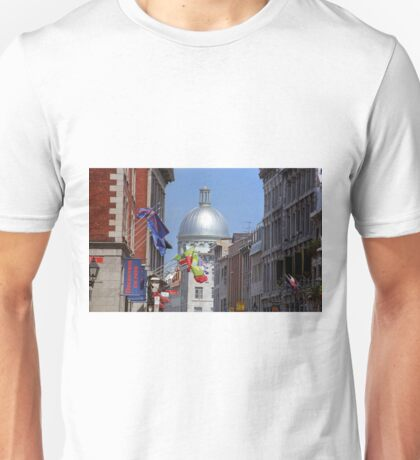 Montreal Dome of Marche Bonsecours Unisex T-Shirt