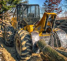 Cable Skidder (detail) February 2007 by Aaron Campbell