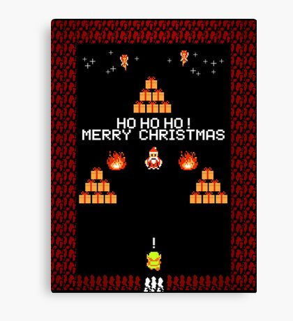Hyrule Christmas! Canvas Print